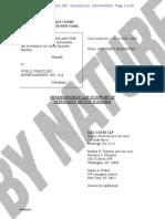 WWE SEC Fraud Lawsuit - HeelByNature.com