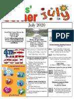 7.2020 July Kids Corner