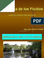 2 - FLUIDOS - Curso de Operaciones Unitarias - Mecánica de los Fluidos