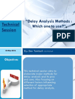 Delay analysisi