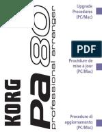 Pa80 Upgrade Procedures