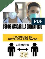 Uso de Mascarilla Obligatorio