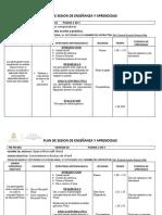 PLAN DE SESION SOLDADURA 2019 16- 20 SEP