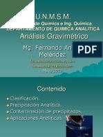 GRAVIMETRIA ( Ready para mañana