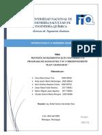 TRABAJO DE INTRODUCCION A LA INGENIERÍA QUIMICA. GRUPO 5 PDF