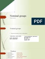 Aula V - grupos nominais e motherboard