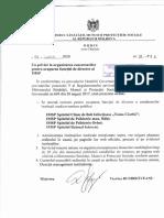 Concurs public de numire a directorului IMSP SCBI Toma Ciorbă - Ordinul nr.98/1 din 01 iulie 2020