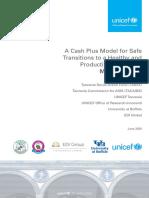 Tanzania Cash Plus Midline Report