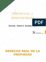 CLASE 09 2019 DERECHO REAL DE PROPIEDAD