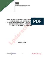 Protocolo transporte terrestre y ferroviario