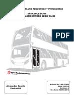 Alexander Dennis Enviro400 Pneumatics Manual