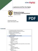 06 Objetivos y Aspiraciones Del Plan Vive Digital