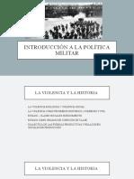 Introducción a la política militar