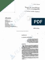 Borsotti Temas de metodología de la investigación en ciencias sociales y empíricas. Cap. II. pp. 29-43 (1)