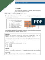 Lectura 05 - Cuantificacion de materiales 3