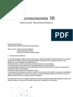 Primera clase de macroeconomía III. Unac 2020