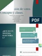 Sistema de contabilización de votos