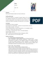 Currículo - Janeali Ferreira