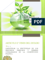 PROTECCION DEL MEDIO AMBIENTE Y LOS RECURSOS NATURALES
