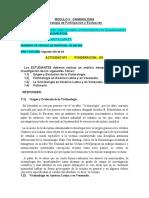 LA VICTIMOLOGIA MODULO II