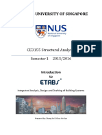 CE3155 Introduction to ETABS