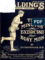 Ten Minutes Exercise for busy man