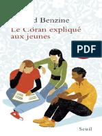 EBOOK Rachid Benzine - Le Coran explique aux jeunes