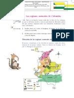 12 Regiones Naturales de Colombia