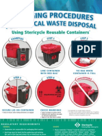 Packaging Procedures for Medical Waste Disposal