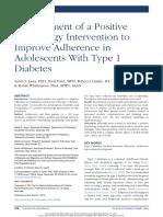 adolescents DMT1