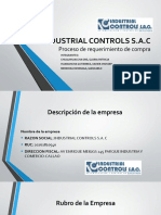 INDUSTRIAL CONTROLS S