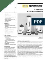 Hipotronics KVM Series