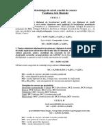Metodologia Calcul Media Admitere