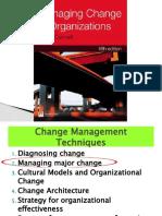 6. Managing major change