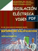 CURSO LEGISLACIÓN ELÉCTRICA SEMANA 1, SEMANA 2 Y SEMANA 3 (1)