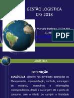 GESTÃO LOGÍSTICA 2018