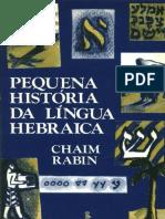 Pequena História da Língua Hebraica - Chaim Rabin.pdf
