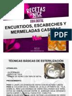 GUIA ENCURTIDOS ESCABECHES Y MERMELADAS VARIEDADES NICE