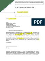 MODELO CARTA DE ACREDITACION