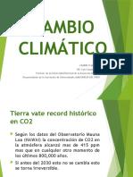 El Cambio Climático por el Dr. Luis Campos Baca