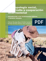 Antropología social, desarrollo y cooperación internacional [Mónica Martínez Mauri, Cristina Larrea Killinger]