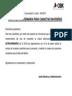 ELM 49 - 009 CUOTA EXTRAORDINARIA PARA CANASTAS NAVIDEÑAS.pdf