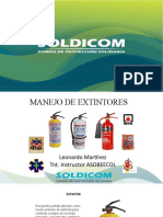 A-3-MANEJO DE EXTINTORES