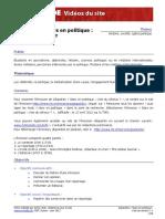 Geopolitis-Stars en politique 12-06