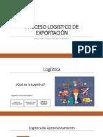 PROCESO LOGISTICO DE EXPORTACIÓN