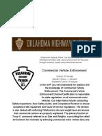 _OHP_ Commercial Vehicle Enforcement SOP