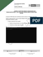 Instructivo escritorio remoto