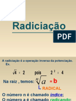 Radiciação