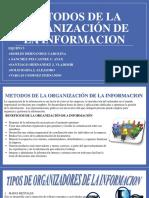 METODOS DE LA ORGANIZACIÓN DE LA INFORMACION