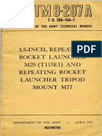 TM 9-297A, 3.5 Inch Repeating Rocket Launcher M25